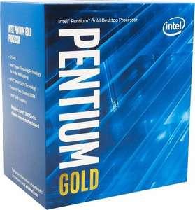 Intel Pentium Gold G6405, 2C/4T, 4.10GHz, boxed mit iGPU Intel UHD Graphics 610