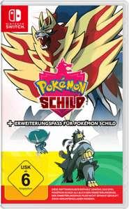 Nintendo Switch Pokemon Schild mit Erweiterung