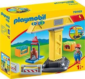 Playmobil 1.2.3 - Baukran (70165) für 11,95€ (Amazon Prime)