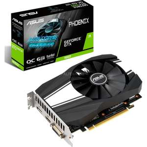 Nvidia Geforce GTX 1660 OC Asus PH - Bestpreis !!!! ;-) (Mining Tauglich P/L Top)
