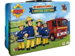 Feuerwehrmann Sam - Die komplette Staffel 8 im Metallkoffer Limited Edition (5 DVDs) für 9,99€ (Saturn Abholung)