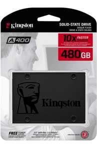 "SSD SATA 2,5"" Kingston A400 480GB (Amazon und Alternate)"