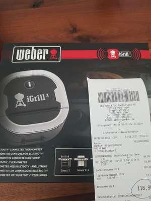 (Lokal Waiblingen) OBI, Weber iGrill 3 Bluetooth-Thermometer