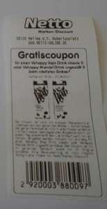 (Netto) Coupon für einen gratis Vehappy Soja- oder Mandeldrink und 5fach Coupon 16.-21.08.