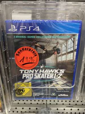 [Lokal Saturn Dortmund] Tony Hawks Pro Skater 1+2 PS4