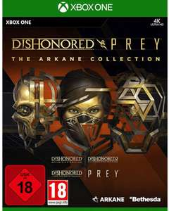 The Arkane Collection: Dishonored & Prey (Xbox One) für 19,99€ & (PS4) für 16,99€ (Müller Abholung)