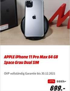 [Lokal MM Berlin Alex] Apple IPhone 11 Pro max 64 GB