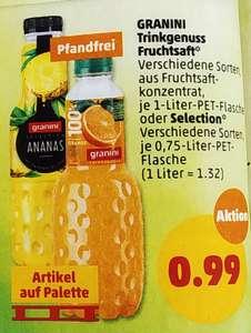 [Penny] Granini Trinkgenuss Fruchtsaft versch. Sorten aus Fruchtsaftkonzentrat