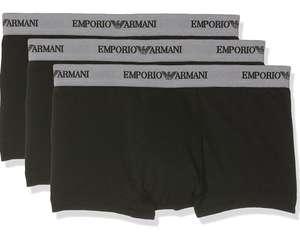 Emporio Armani Herren Retro Boxershorts 3er Pack schwarz Prime