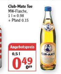 [Globus Rostock] Club Mate - 0,5l Flasche - 0,49 Euro - Preis ohne Pfand