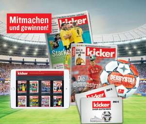 8 Kostenlose und Unverbindliche Ausgaben des Kicker Sportmagazins