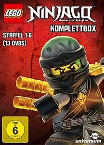 Lego Ninjago: Masters of Spinjitzu Komplettbox - Staffel 1-6 (13 DVDs) für 39,97€ (Amazon)