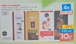 4x Kaffee- und Telekapseln 10€ statt 15,86€ und Nescafé Classic 200g+20g Gratis für 4,99€ ab 16.08 Netto MD