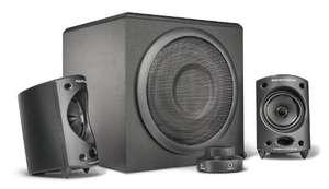 Wavemaster MOODY 2.1 Lautsprecher System (65 Watt) Aktiv-Boxen 5o