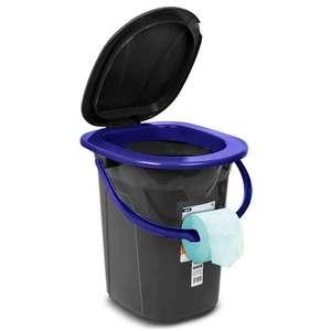 Campingtoilette »GB320« von GreenBlue [mit Tragegriff, Toilettenpapierhalter und Auskipp-Hilfe, 19 Liter]