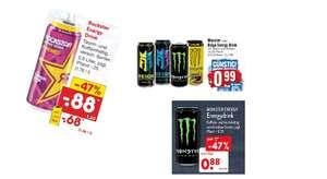 Energy Drink Angebote vom 16.08 - 21.08 z.B. Rockstar Energy Drink 500ml für 0.68€ + 0.25€ Pfand mit Netto App