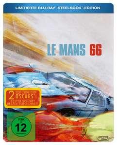 Le Mans 66 Gegen jede Chance Limited Steelbook Edition (Blu-ray) für 11,99€ (Media Markt Abholung)