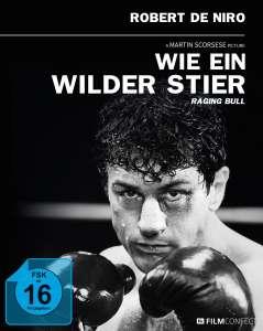 Wie ein wilder Stier - Filmconfect Essentials Limited Mediabook Edition (Blu-ray + DVD + Kinoplakat) für 6,99€ (Media Markt Abholung)