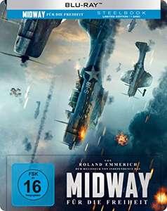 Midway - Für die Freiheit [Steelbook] [Blu-ray] (Amazon Prime / Media Markt Abholung)