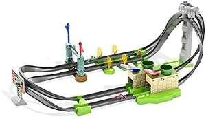 Hot Wheels GHK15 - Mario Kart Mario Rundkurs Rennbahn, Trackset Lite, inkl. 1 Spielzeugauto, ab 5 Jahren [Amazon]