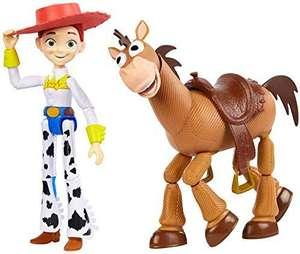 Mattel Disney Pixar Toy Story, Spielzeugfiguren, Jessie & Bully, 2 er Pack [Amazon Prime]