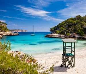 Mallorca: (Okt-Nov) Eine Woche - Doppelzimmer im 4* Riu Hotel mit Halbpension, Flügen, Zug zum Flug und Transfers für 318€ p.P.