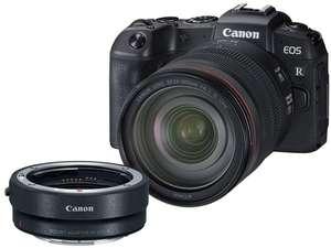 Canon EOS RP Systemkamera inkl. RF 24-105mm F4 L Objektiv & Adapter | Media Markt ES