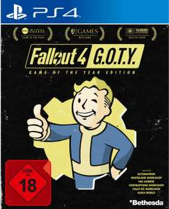 Fallout 4: Game of the Year Edition (PS4) für 14,99€ (Müller Abholung)