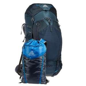 GREGORY Baltoro 75 Männer Trekkingrucksack, inkl. Tagesrucksack/Trinksystem und Regenhülle, Gewicht 2250g, Größe M [Globetrotter]