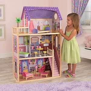 KidKraft, Kayla Puppenhaus aus Holz mit Möbeln und Zubehör, Spielset