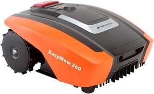 Yard Force Easy Mow 260 Mähroboter (bis 260m², 20V 2.0Ah Li-Ion-Akku für ~60min, 160mm Schnittbreite & 20-55mm -höhe, bis 30% Steigung)