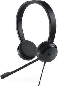 Dell Pro Stereo Headset UC150 (On-Ear, Jabra-Technologie, USB, 4-Tasten-Fernbedienung, Skype for Business-Zertifizierung)