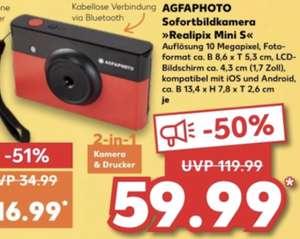 AGFA Realipix Mini S Sofortbildkamera 10 MP Bluetooth Lithium-Akku für 59,99€