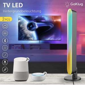 GoKlug White and Color Ambiance Play Lightbar 2-er Pack LED