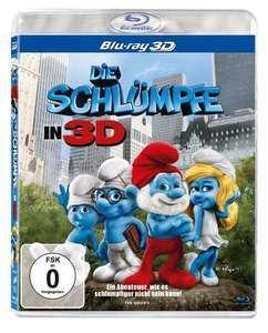 Die Schlümpfe 3D & Wolkig mit Aussicht auf Fleischbällchen 3D (Blu-ray 3D) für je 5,99€ (Media Markt Abholung & Amazon Prime)