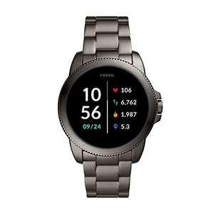 Fossil Smartwatch GEN 5E Edelstahl Grau für 143€