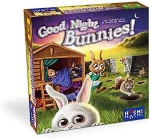 Huch & Friends 880611 Good Night, Bunnies - Kooperatives Brettspiel für Kinder ab 5 Jahren [Prime oder Abholstation]