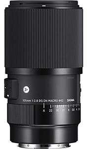 Sigma 105mm F2.8 DG DN Macro Art Objektiv für Sony E-Mount