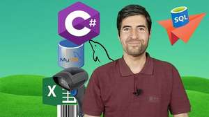 Kurse: Easy C# with Windows Forms (108h), Easy VB.Net (72h), SQL in C# (78h), SQL in VB.Net (69h), WPF in C# Windows 9,99€ - Udemy