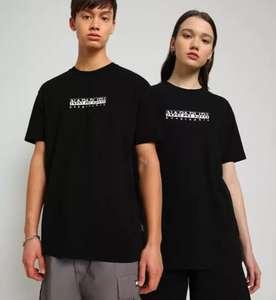 20% extra Rabatt auf den gesamten Sale, z.B. Napapijri SOLE Graphic Print T-Shirt aus reiner Baumwolle in 4 Farben