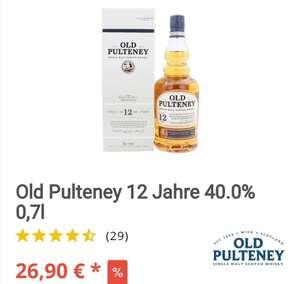 Old Pulteney Whisky 12 Jahre, 700 ml
