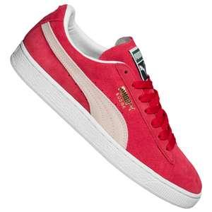 Puma Suede Classic Leder Sneaker in Rot für 38,94€