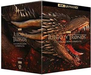 Der Winter naht! Game of Thrones: The Complete Collection (4K Blu-ray + Blu-ray) für 130,45 € oder 3 Stück für 258,27€ (Amazon.es)