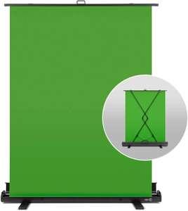 Elgato Green-Screen Chroma-Key-Panel 148x180 cm (automatisch arretierend, knitterfreies Material, inkl. Aluminium-Koffer)
