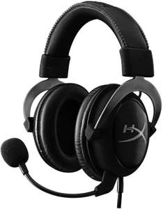 HyperX Cloud II Gaming-Headset (Virtual 7.1 Surround Sound, Noise Cancelling, abnehmbares Mikrofon, für PC, PS4, Mac, Xbox) Gun Metal