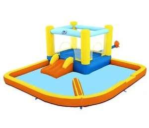 Bestway H2OGO! Wasserpark Beach Bounce, mit Dauergebläse, 365 x 340 x 152 cm | Wasserpark Dodge & Drench 178,49€ [Metro]