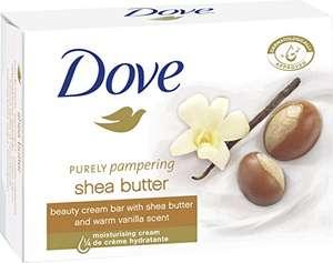 Amazon Prime: 5Stück Dove Waschstück Beauty Cream Bar mit Sheabutter,Vanille , jeweils 100g/ Stück, Preis je Stück = 45,4 Cent