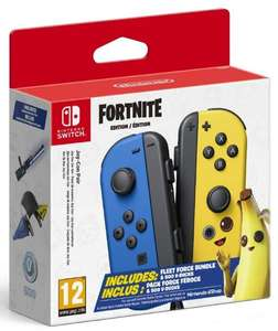 Nintendo Switch Joy-Con Fortnite Edition mit Fleet Force Bundle + 500 V-Bucks für 58,45€ (Amazon.es)