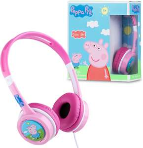 Lexibook HP015PP Kopfhörer Peppa Pig, Kinder Kopfhörer, Mädchen, mit Kabel