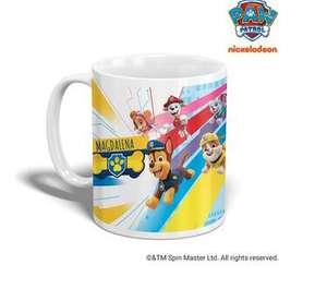 Paw Patrol Fans aufgepasst: personalisierte Tasse für 8,99€ // Kissen für 17,99€ inkl. Versand
